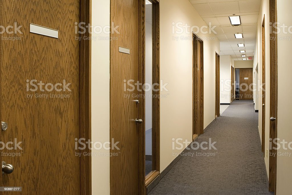corporate office environment royalty-free stock photo