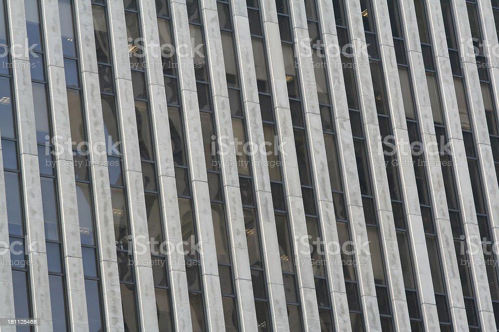 Corporate Office Window Pattern royalty-free stock photo