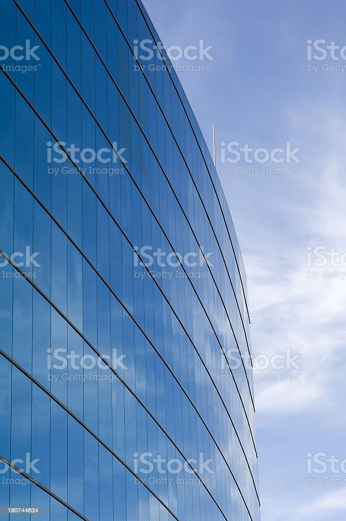 Corporate Reflections royalty-free stock photo