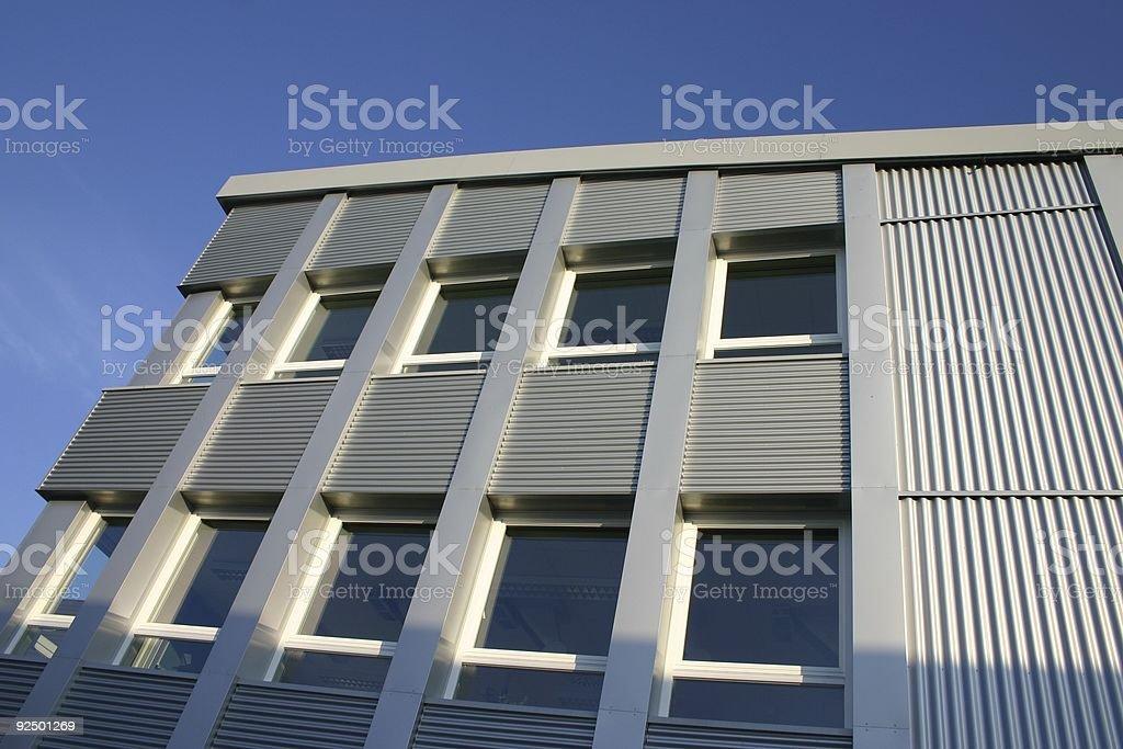 Corporate school building royalty-free stock photo