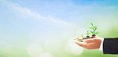 istock Corporate social responsibility (CSR) concept 1064739498