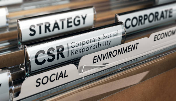 corporate social responsibility, csr strategy - responsible business stock photos and pictures