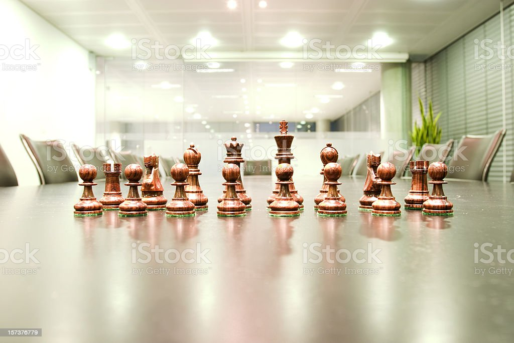 Corporate strategy royalty-free stock photo