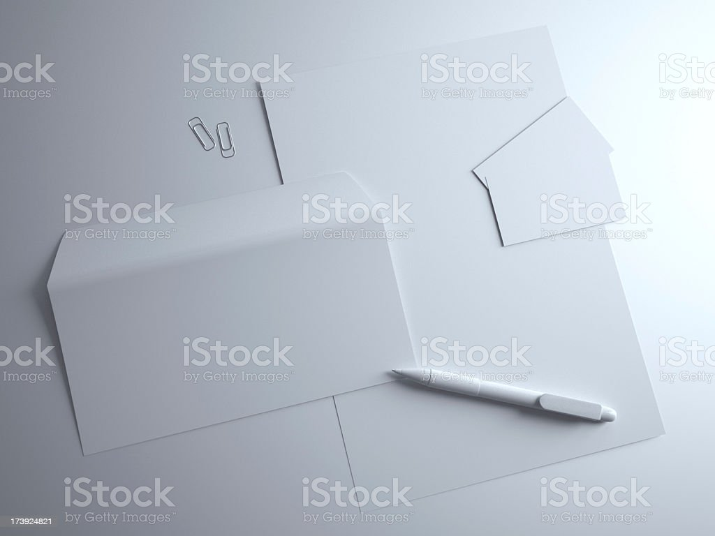 Corporate style template royalty-free stock photo