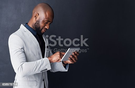 istock Corporate success means being equipped with cutting edge technology 638978714