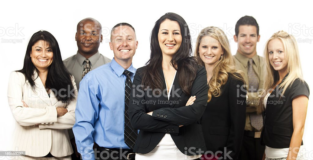 Corporate Team royalty-free stock photo