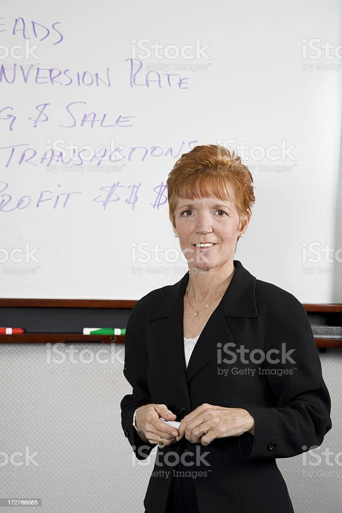 Corporate Trainer royalty-free stock photo