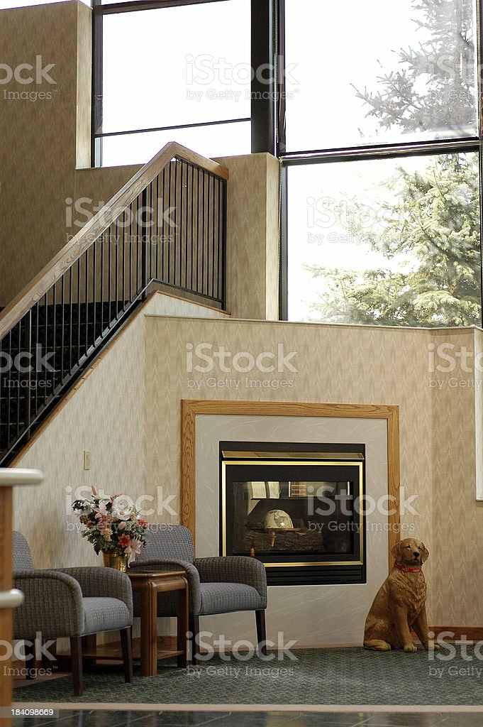 Corporate Waiting Area royalty-free stock photo