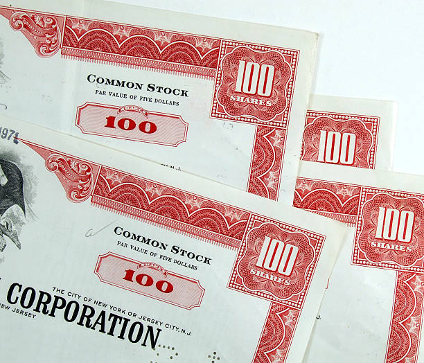 Corporation common stock shares  debenture stock pictures, royalty-free photos & images