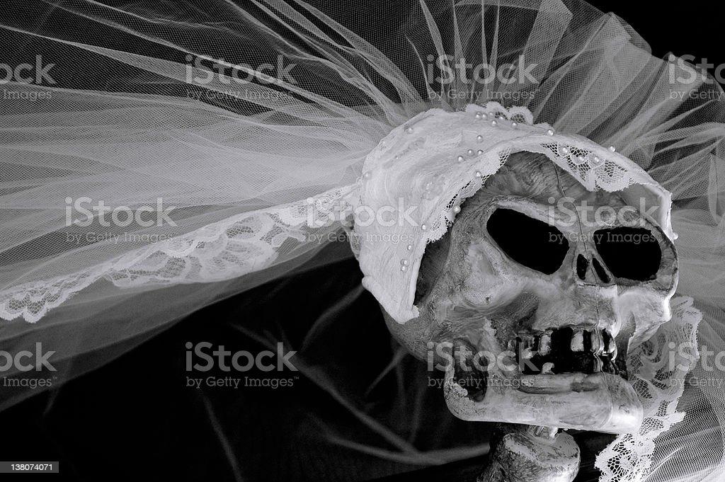 Corpse Bride royalty-free stock photo