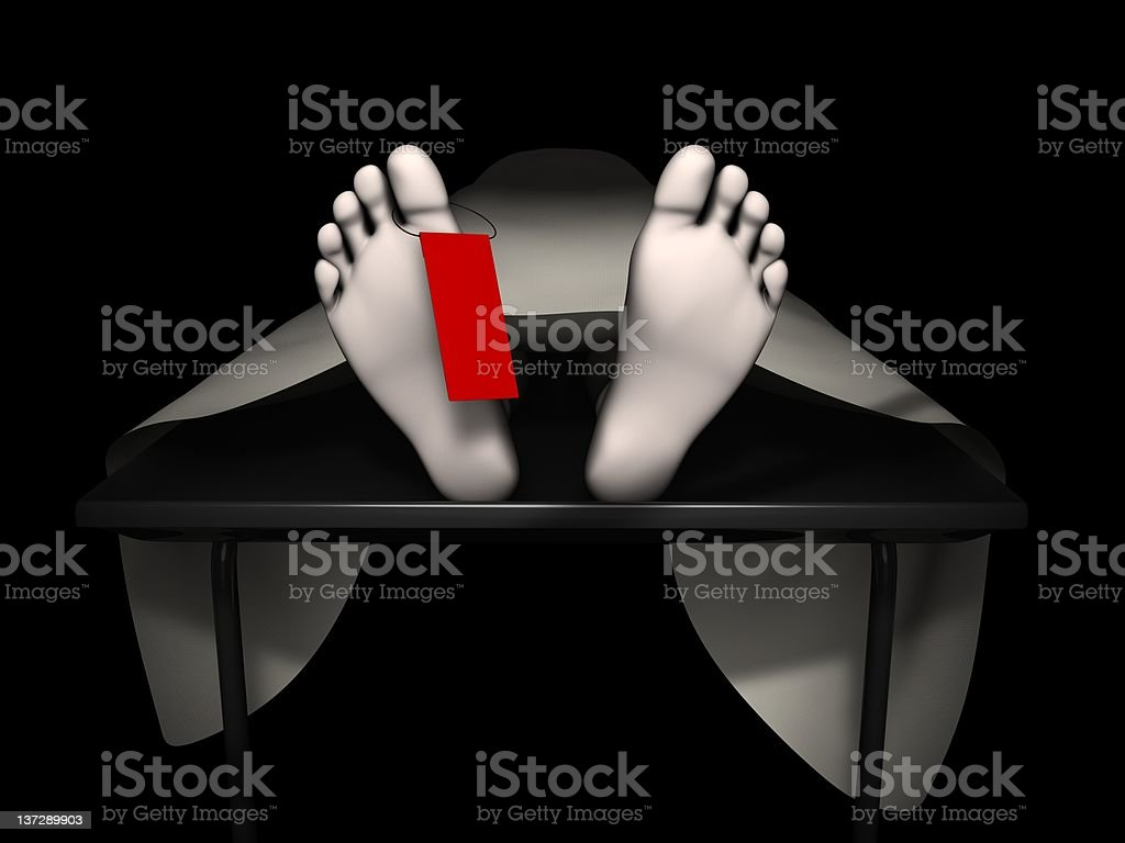 Corpse royalty-free stock photo