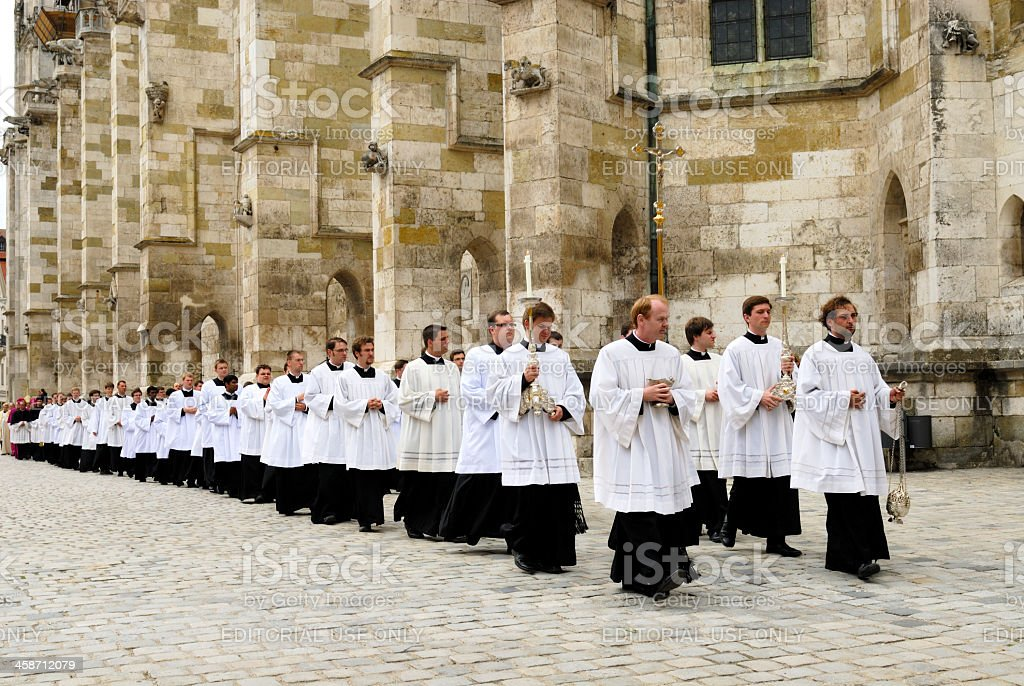 corpus christi celebration royalty-free stock photo