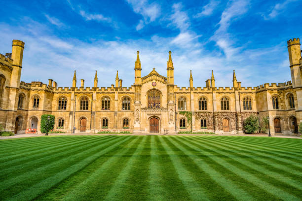 corpus christi college - cambridge university stock photos and pictures