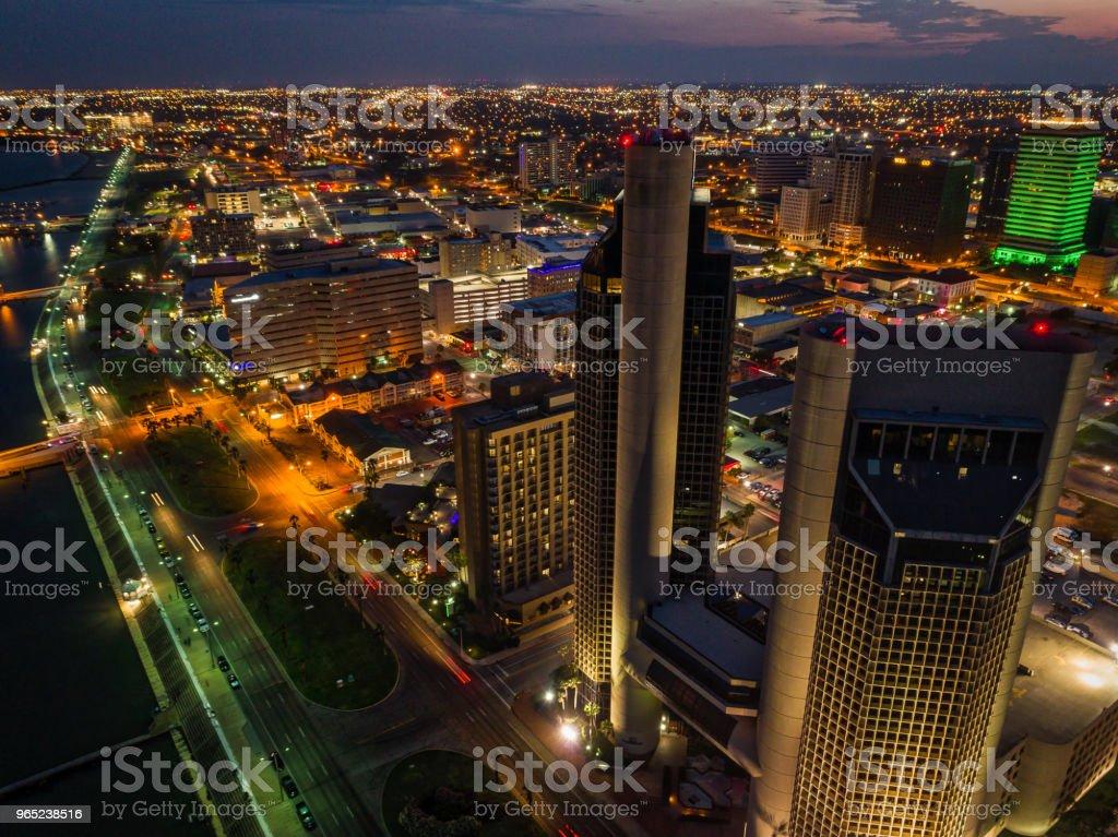 Corpus Christi, Texas High Rises royalty-free stock photo