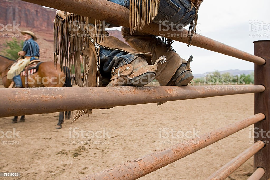Corral royalty-free stock photo