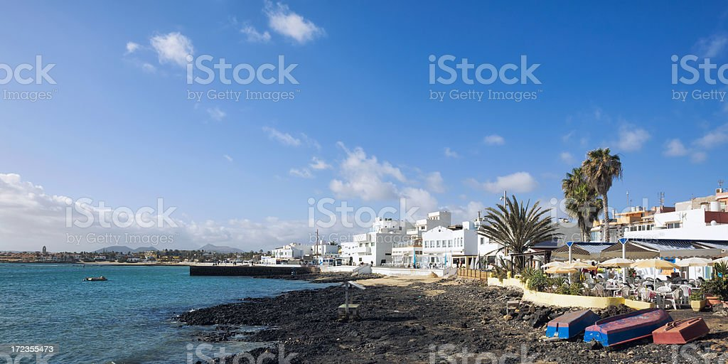 Corralejo, Fuerteventura royalty-free stock photo