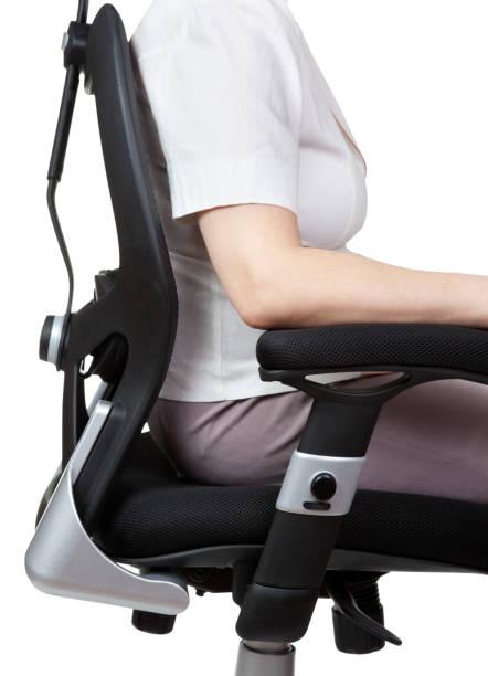 Die richtige Position für Arbeit – Foto