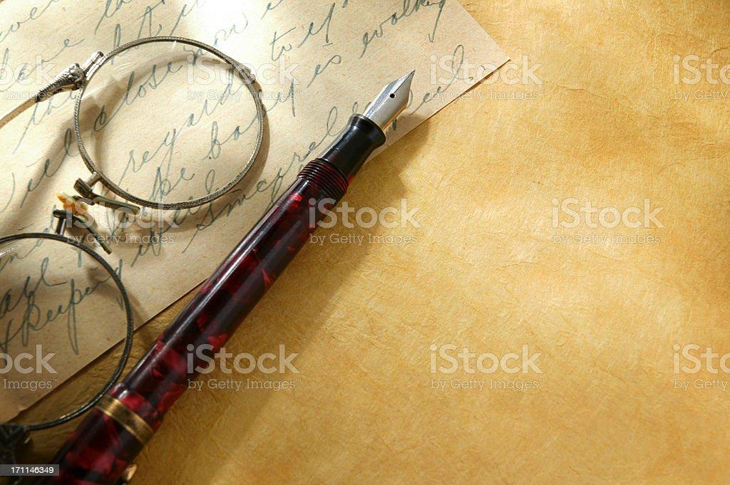 Correspondence royalty-free stock photo