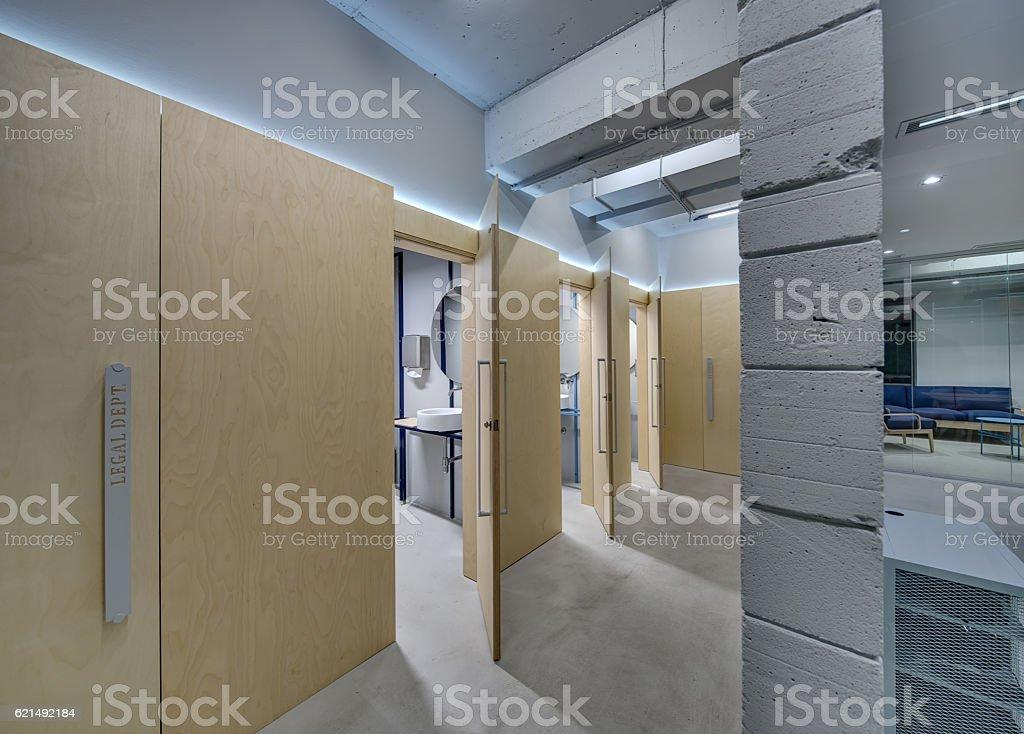 Corridor in loft style photo libre de droits