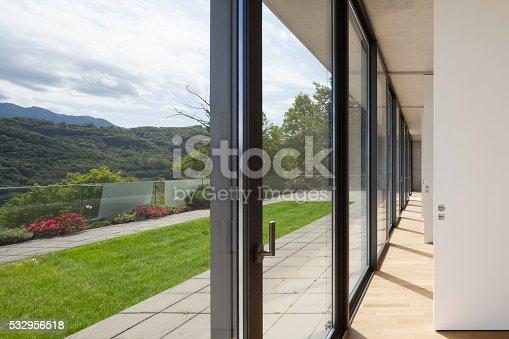 istock corridor of modern building 532956518