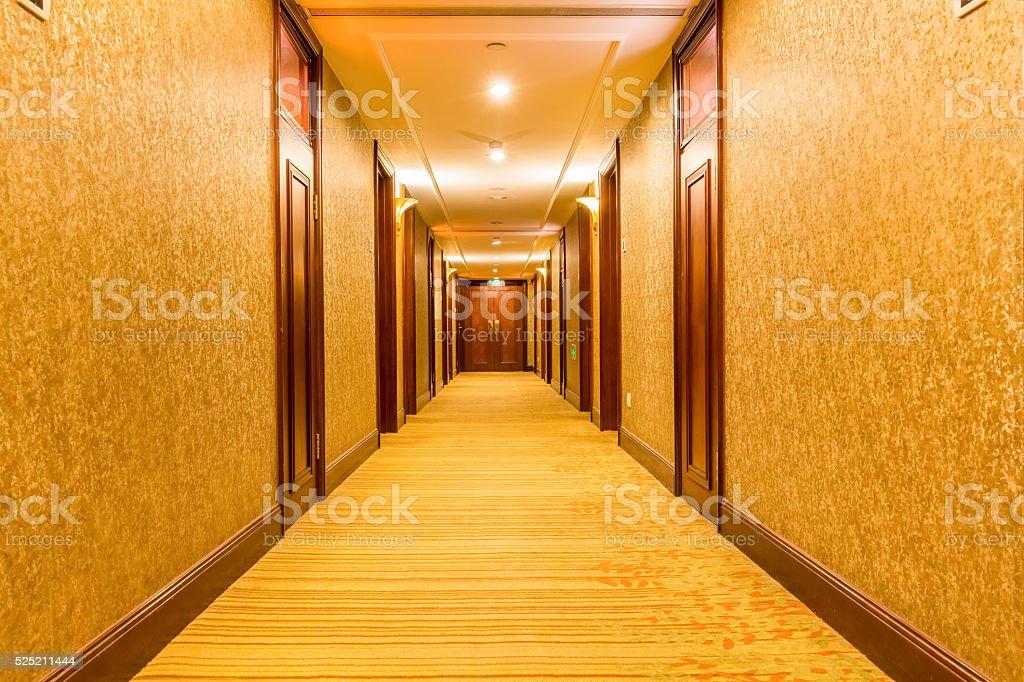 Korridor des Hotels – Foto