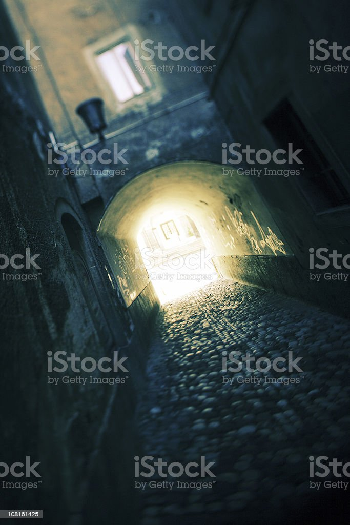 Corridor royalty-free stock photo