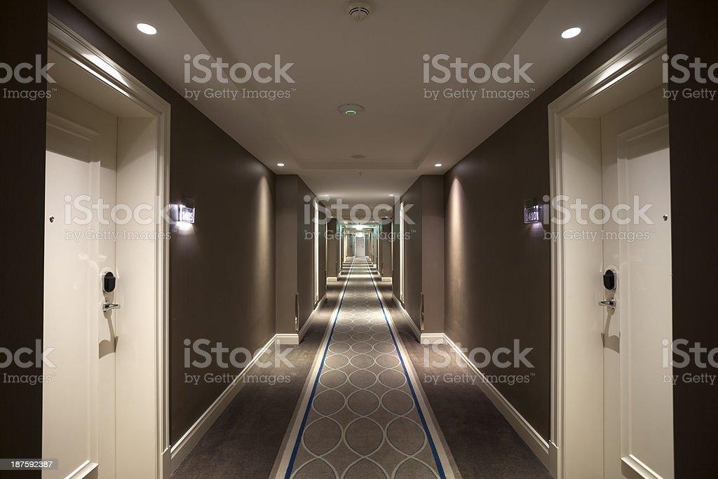 Corridor stock photo