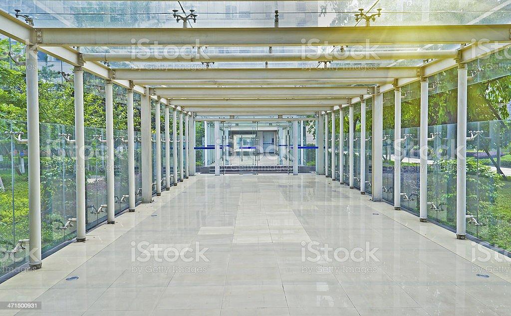 corridor royalty-free stock photo
