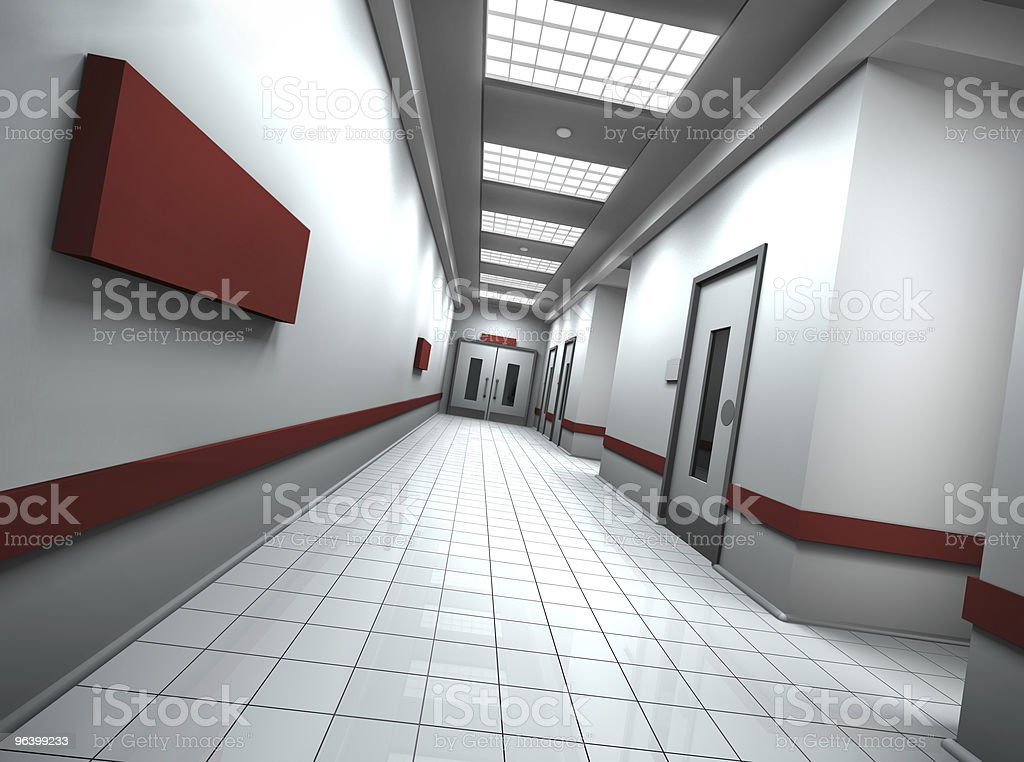 Corridor - Royalty-free Built Structure Stock Photo