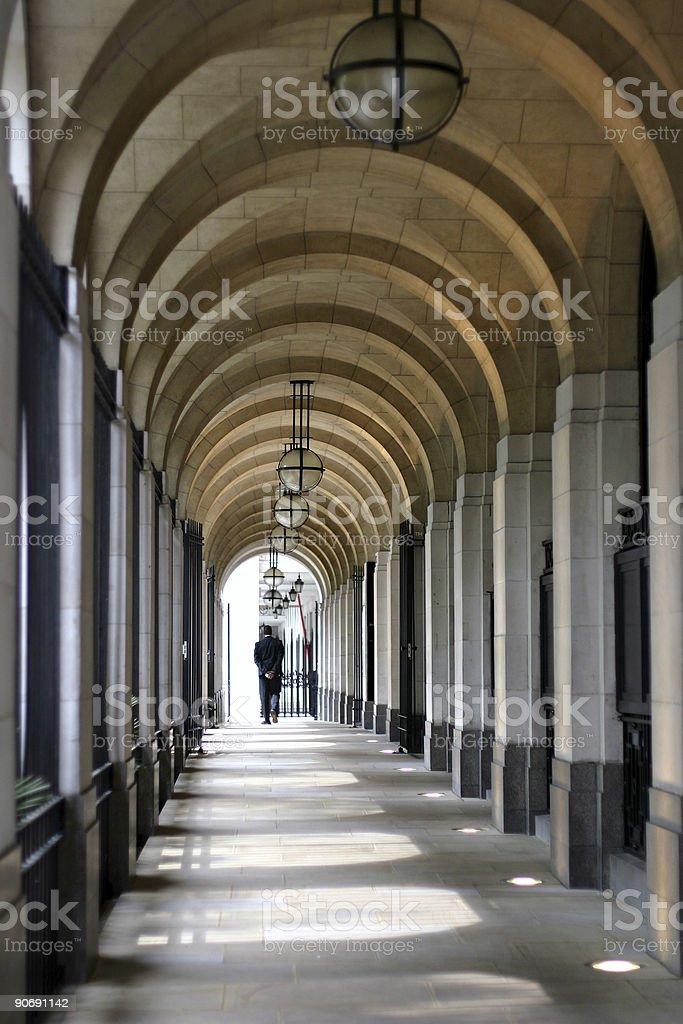 Corridors of Power royalty-free stock photo