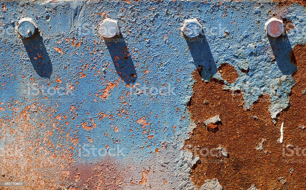 Corroded metal background texture royalty-free stock photo