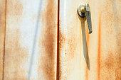 istock corroded  steel door 477333992