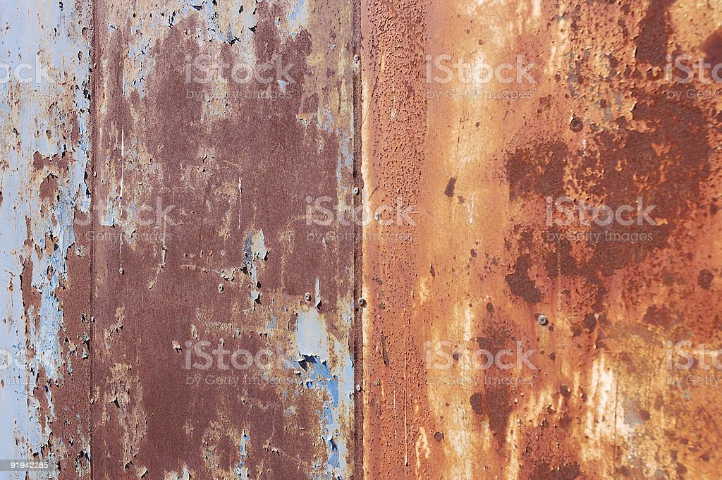 Corroded Steel royalty-free stock photo