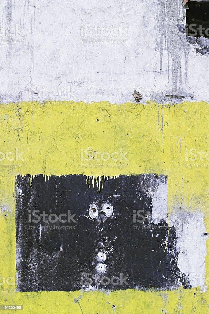 Corroded Wall stock photo