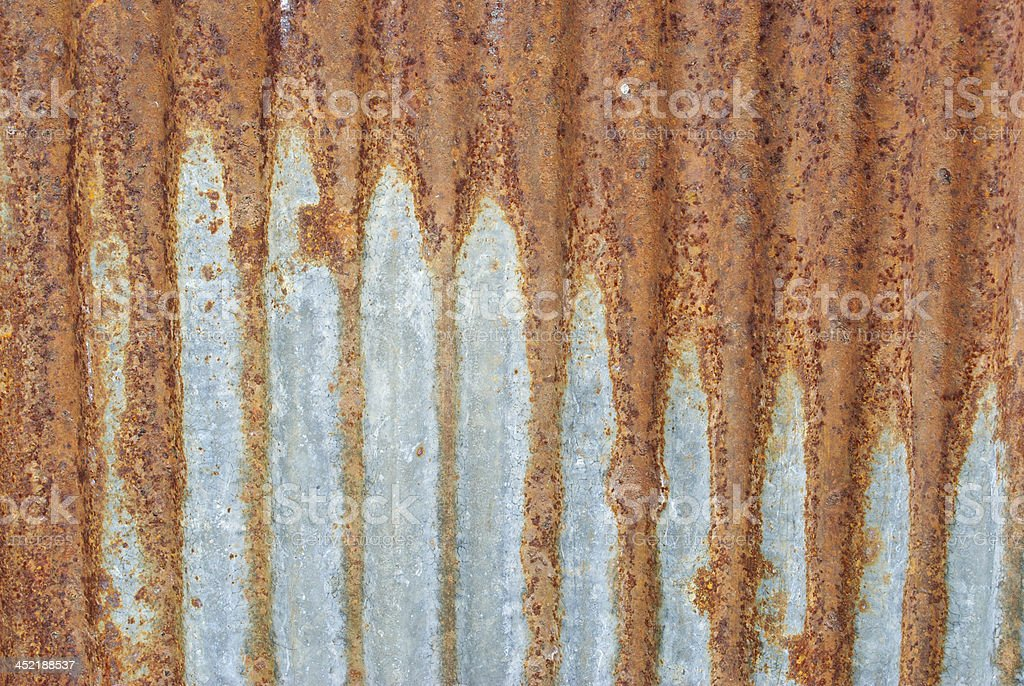 Corrosion metal sheet royalty-free stock photo