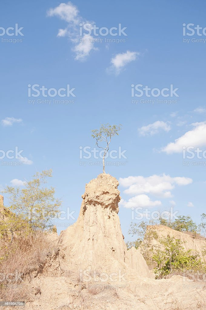corrosion of soil royalty-free stock photo