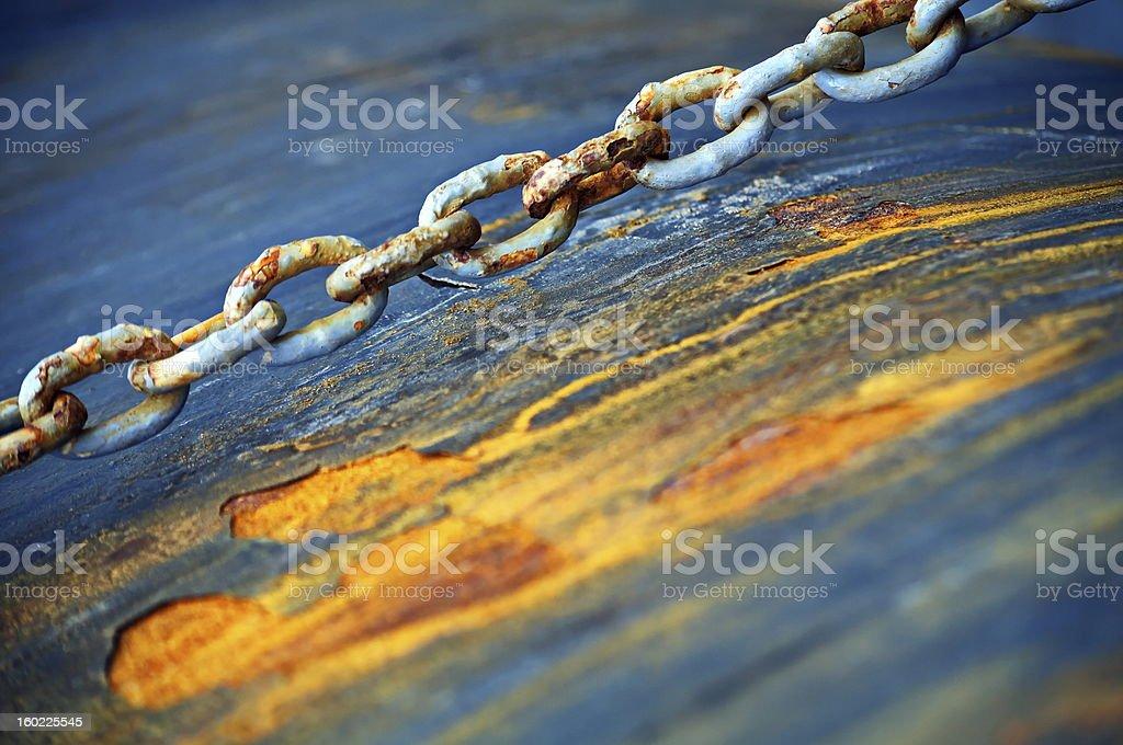 Corrosion royalty-free stock photo