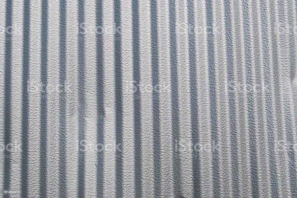 Corrugated Aluminum Background royalty-free stock photo