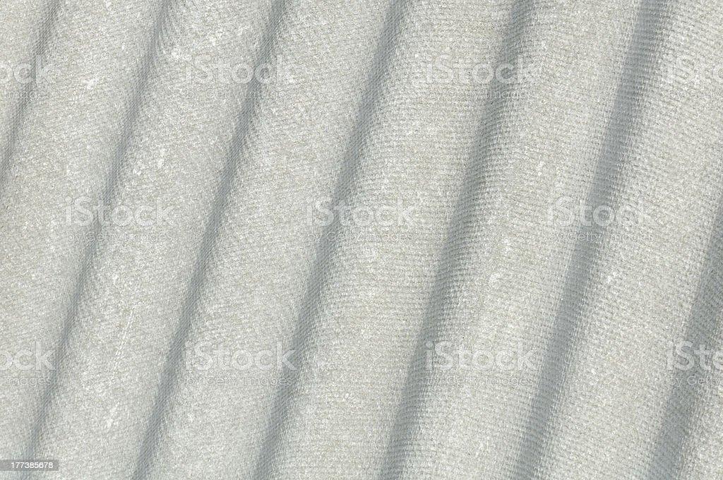Pele enrugada amianto telhado de cimento folha (Eternit) - foto de acervo