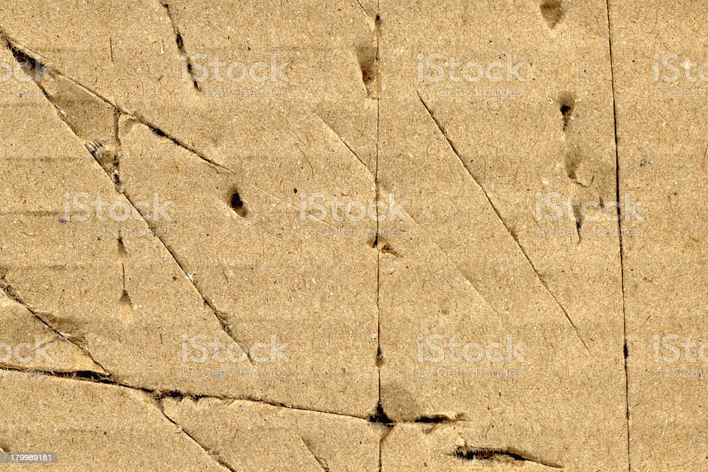 Corrugated cardboard background royalty-free stock photo