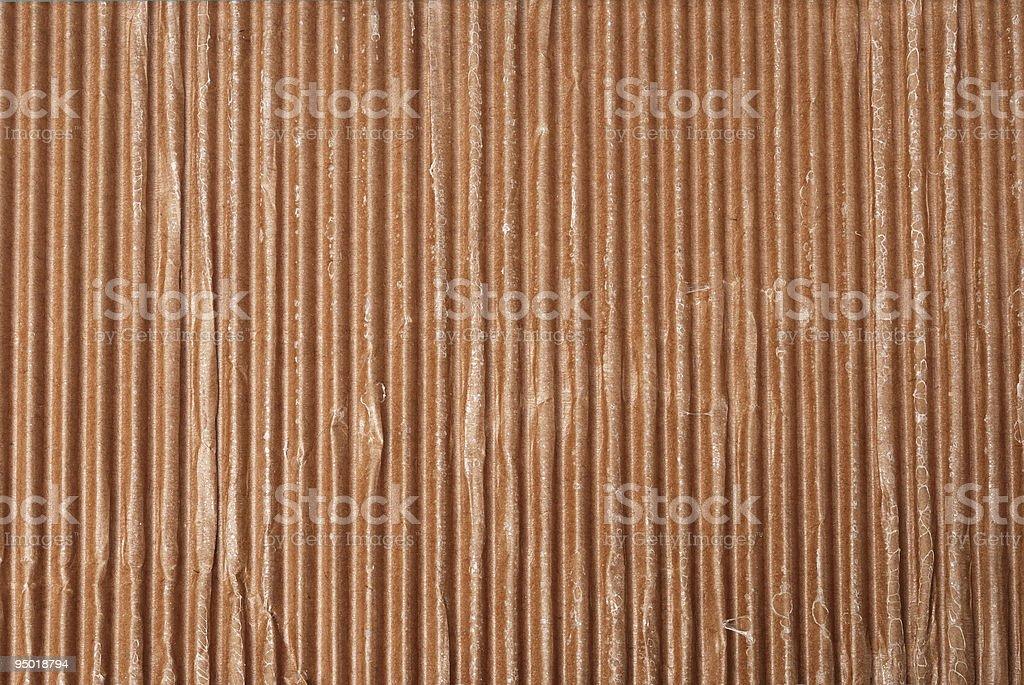 Corrugated cardboard background stock photo