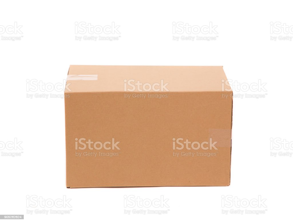 Corrugated Cardboard Box Stock Photo - Download Image Now