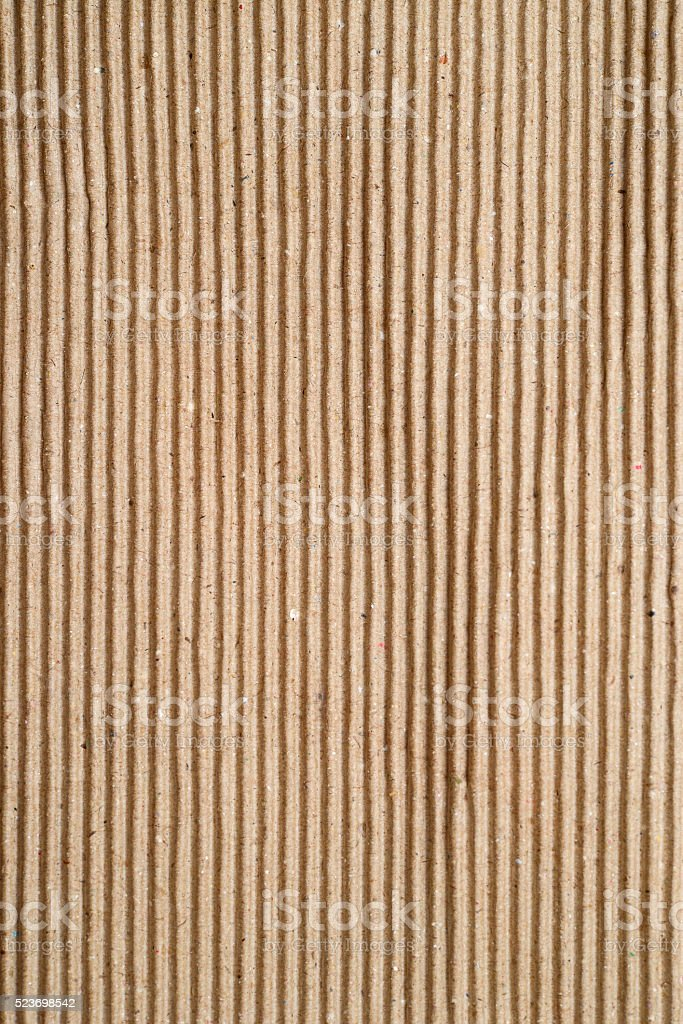 corrugated cardboard sheet stock photo