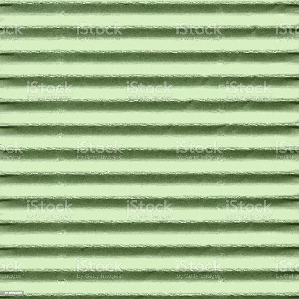 Corrugated Cardboard Texture royalty-free stock photo