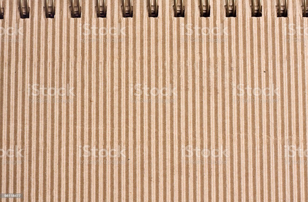 Corrugated carton royalty-free stock photo