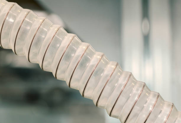 corrugated hose – Foto