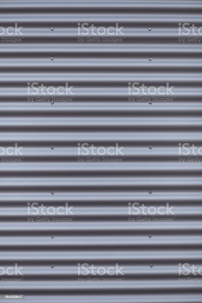 Corrugated Iron background stock photo