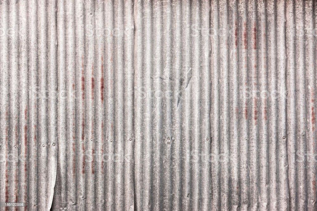 Corrugated iron frame background royalty-free stock photo