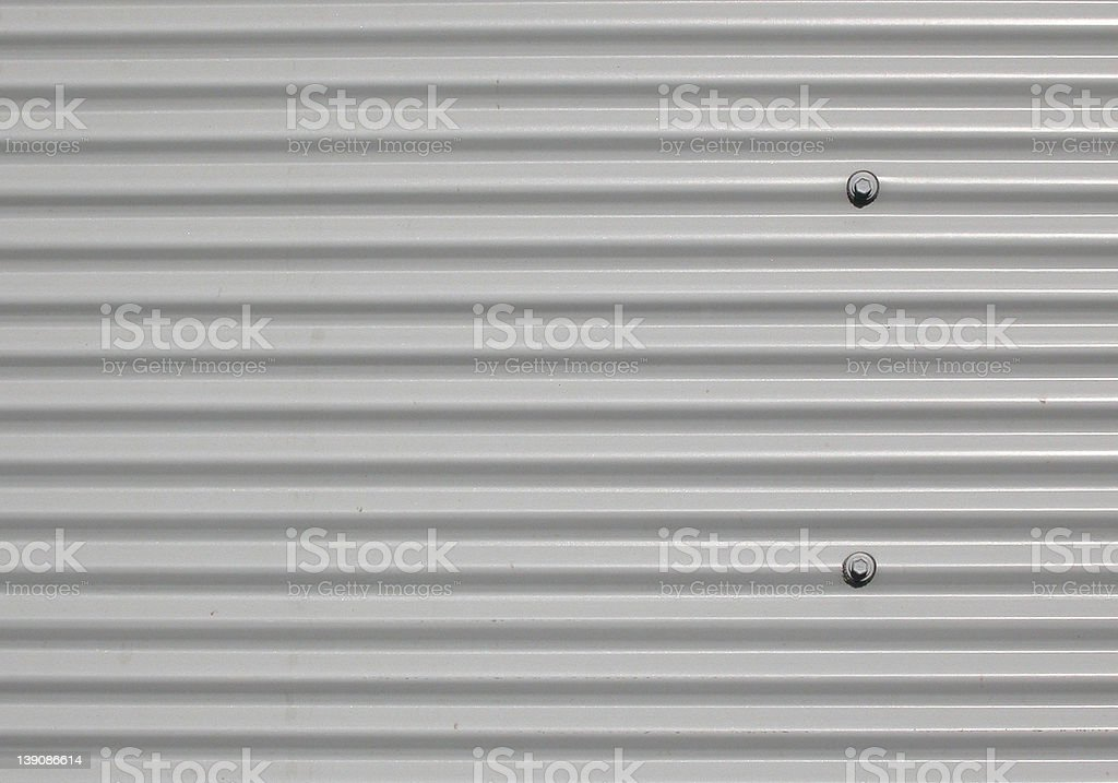 Corrugated Iron Plate royalty-free stock photo