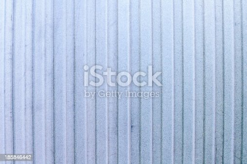 istock Corrugated Iron texture 185846442